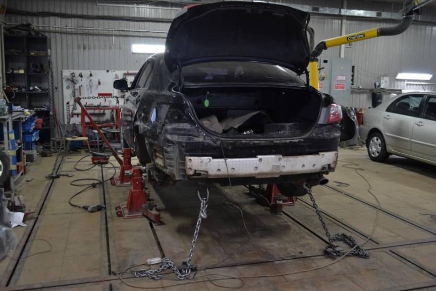 фото кузовной ремонт тойота