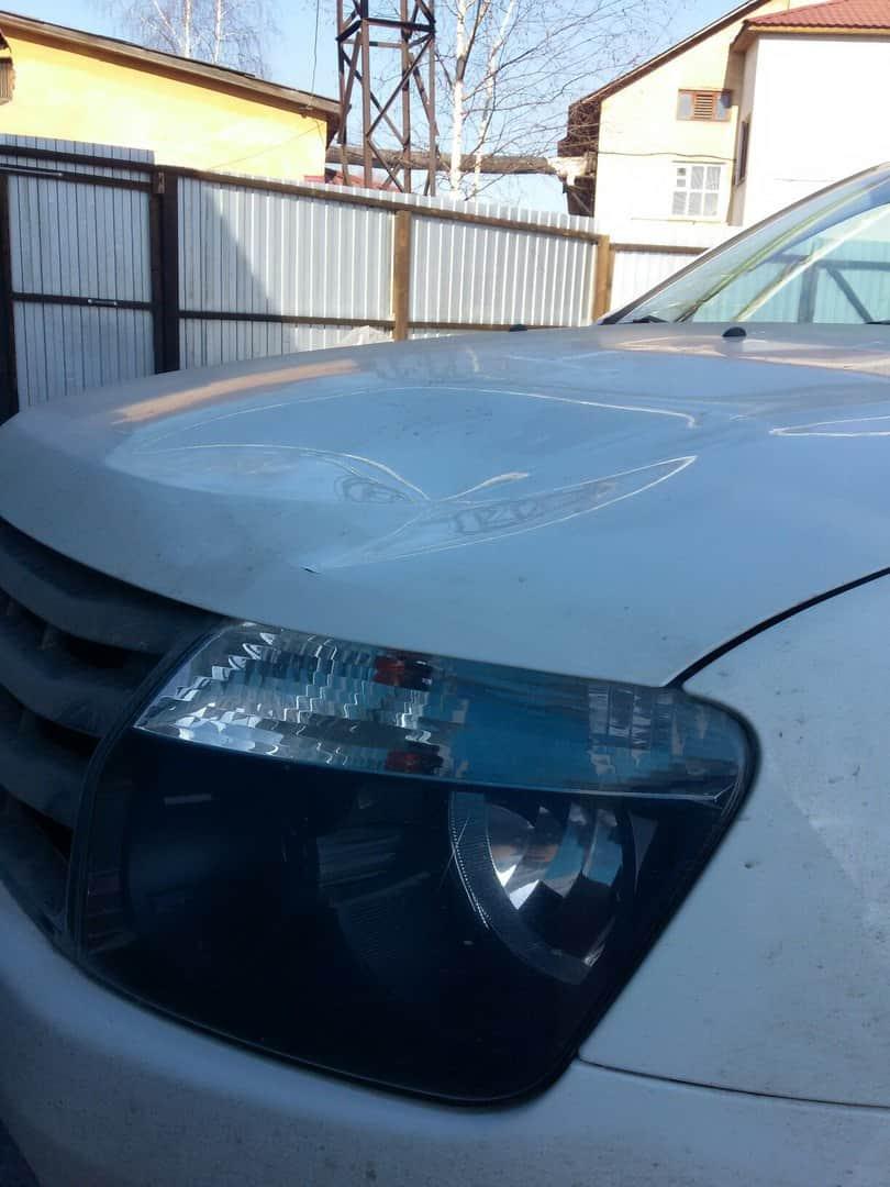 Фото авто перед ремонтом