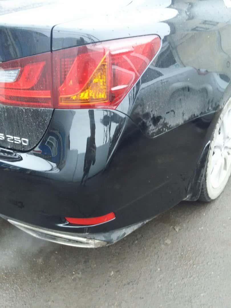 Фото бампера авто после ремонта