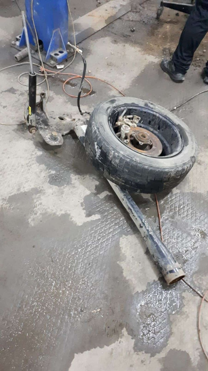 Фото замены балки автомобиля