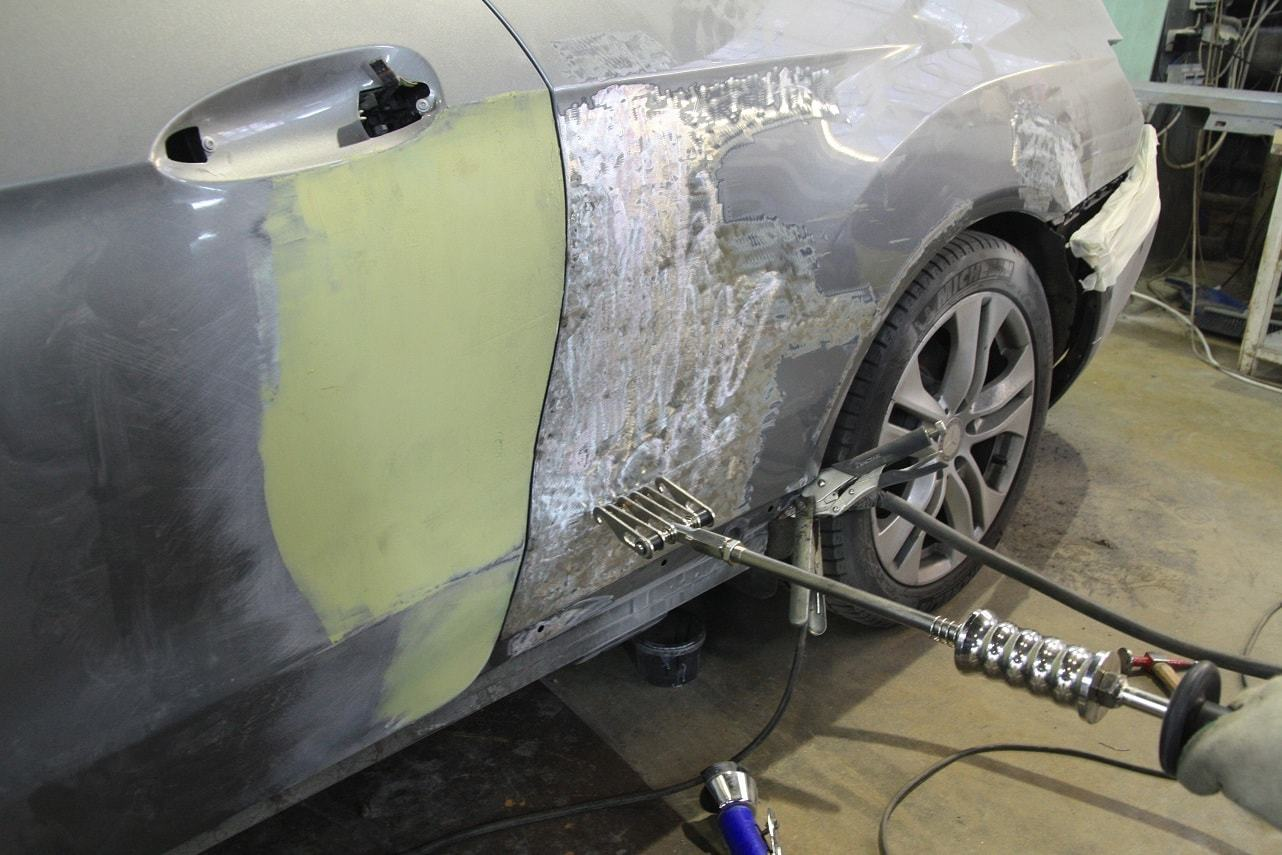 фото ремонт крыла авто в вологде