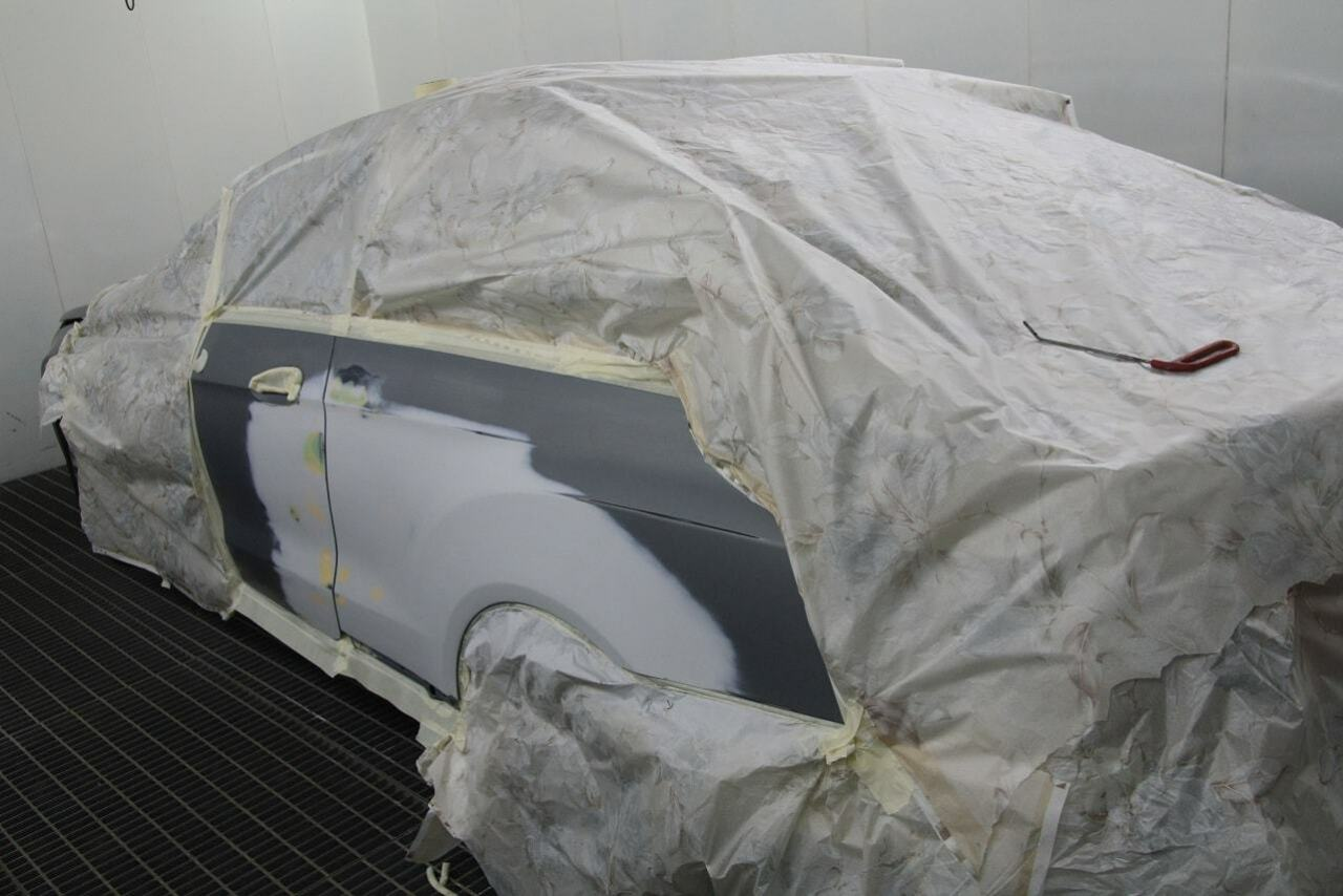 фото крыло авто до ремонта в автосервисе
