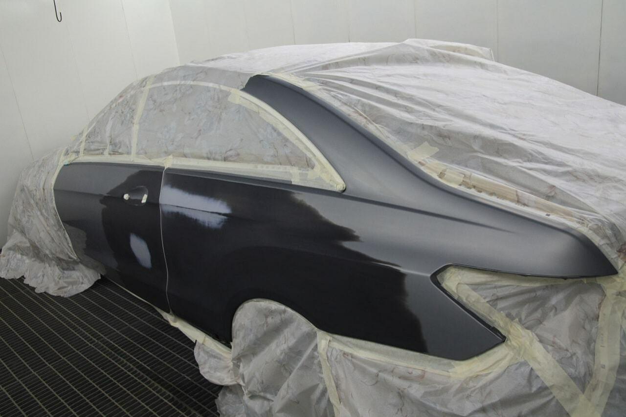 фото после ремонта крыла авто в вологде