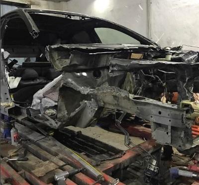Фото кузовного ремонта