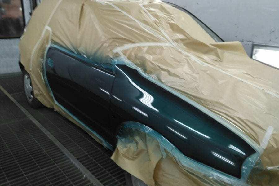 фото локальная покраска авто в вологде