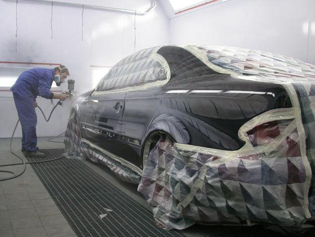 фото услуга покраски автомобиля в вологде