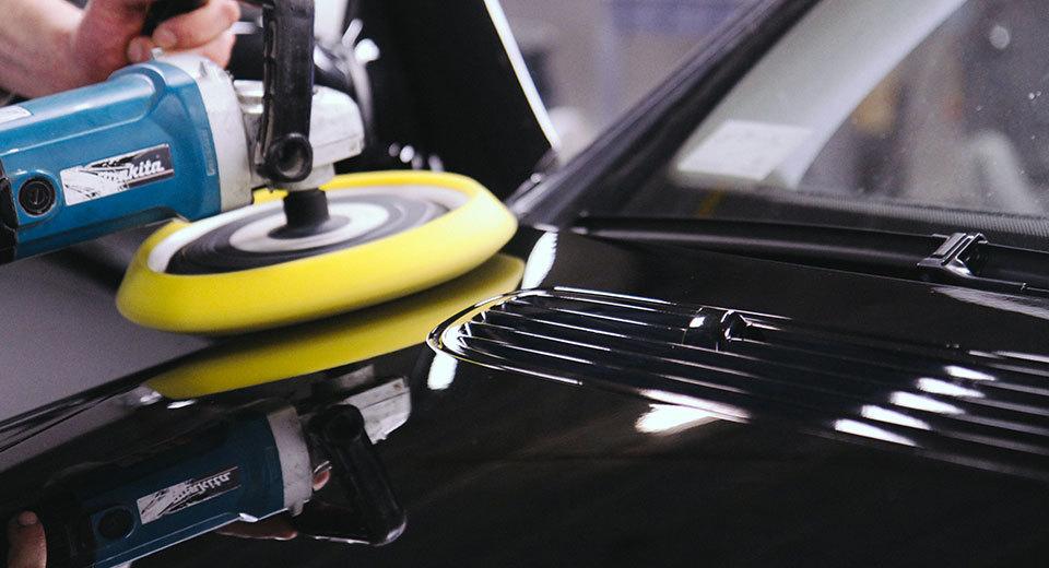 фото услуга полировки автомобиля