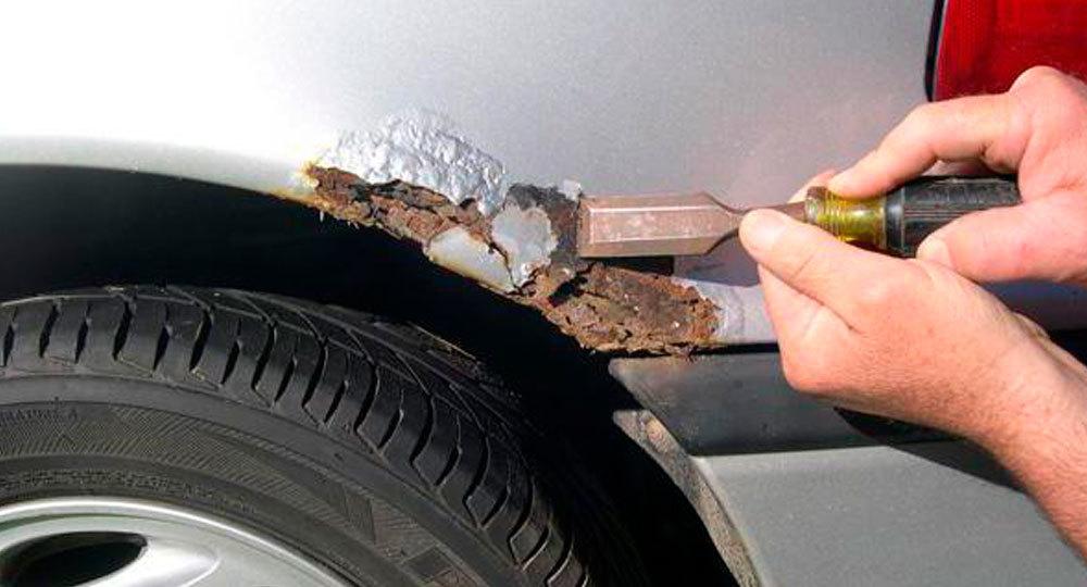 фото удаление ржавчины с кузова авто